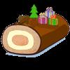 la recette de cuisine Bûche de Noël 2012 - jeux de cuisine gratuit en ligne thé ou chocolat