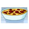 la recette de cuisine Gratiné de cerises - jeux de cuisine gratuit en ligne thé ou chocolat