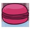 la recette de cuisine Macaron aux fruits rouges - jeux de cuisine gratuit en ligne thé ou chocolat