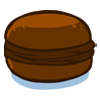 la recette de cuisine Macaron au chocolat - jeux de cuisine gratuit en ligne thé ou chocolat