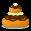la recette de cuisine Religieuse au chocolat - jeux de cuisine gratuit en ligne thé ou chocolat